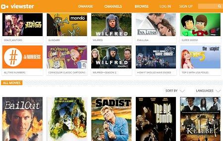 Viewster movie site